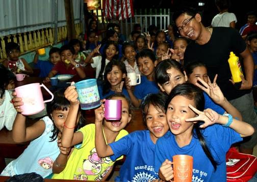 Visiting Jimmy's School in Siem Reap