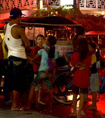 Siem Reap at night