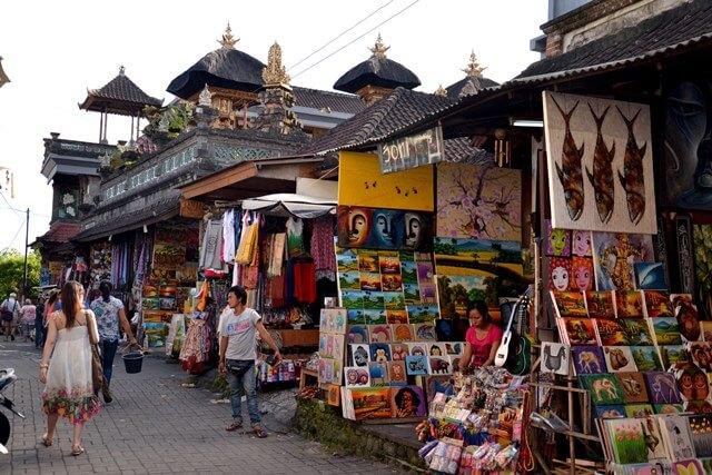 Markets in Ubud, Bali