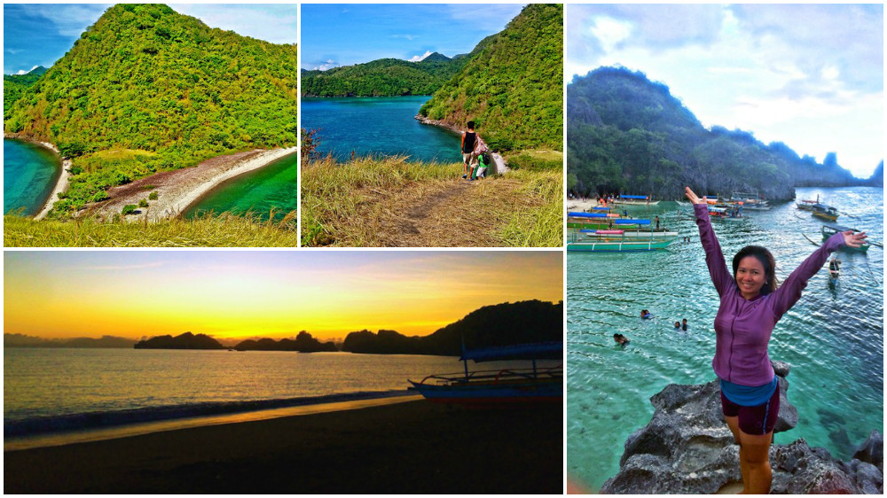 Visiting Caramoan beach in the Philippines