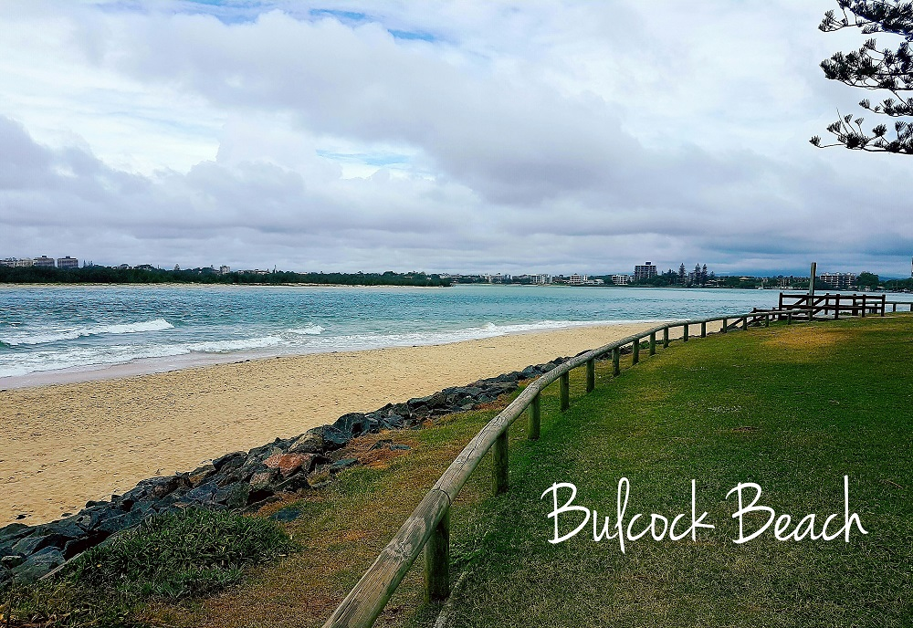 Visiting Caloundra beach Australia