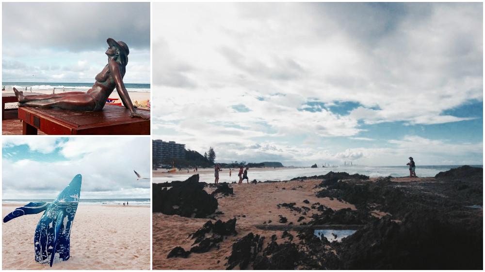 Visiting Currumbin Beach in Australia