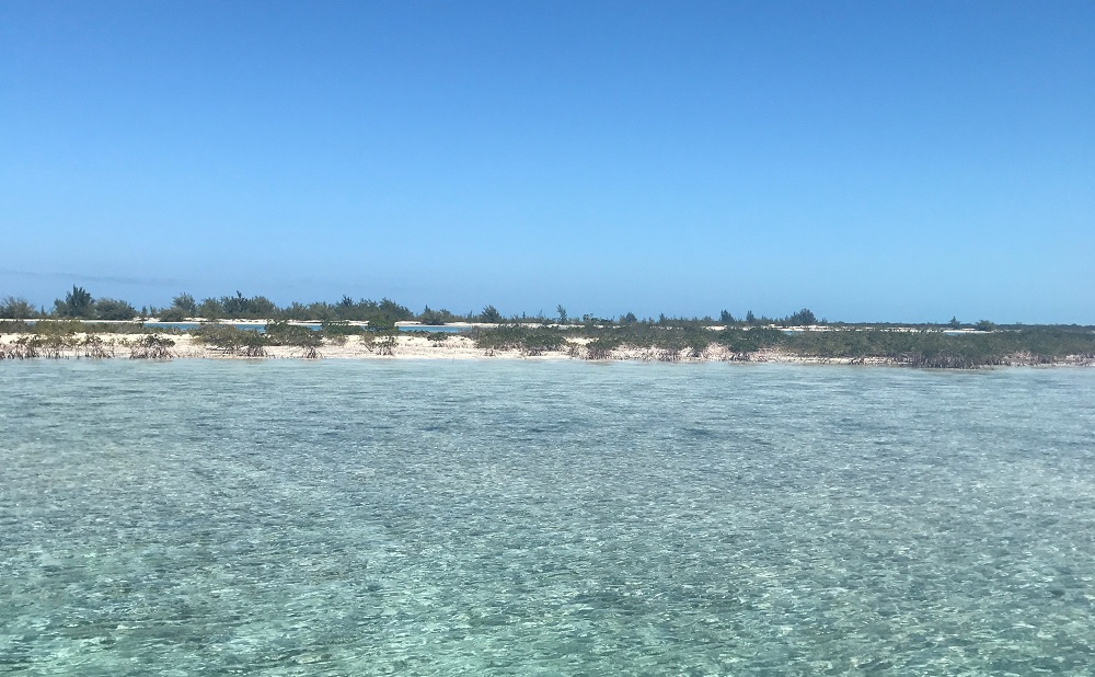 Grace Bay and the surrounding Cays of the Turks & Caicos
