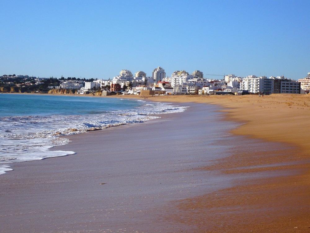 Visiting Praia Grande, Algarve, Portugal