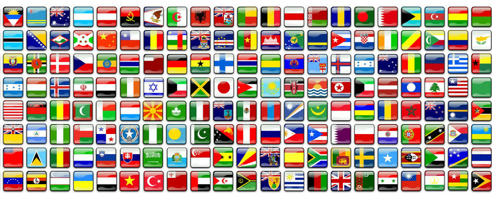 Test your skills on this easy world flags quiz, if you do well then progress to medium level.