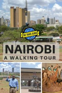 Check it out - a walking tour of Nairobi
