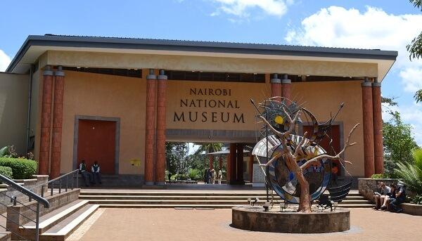 visiting Nairobi national museum