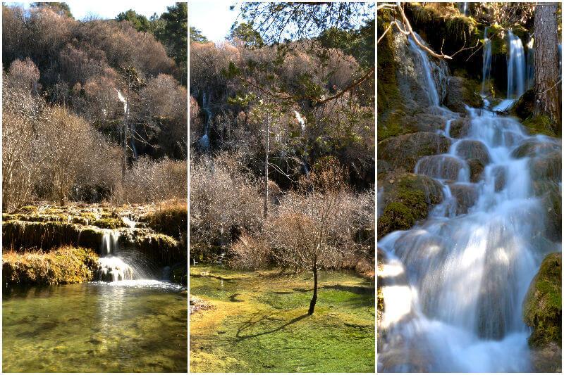 Clear water at Nacimiento Del Rio Cuervo