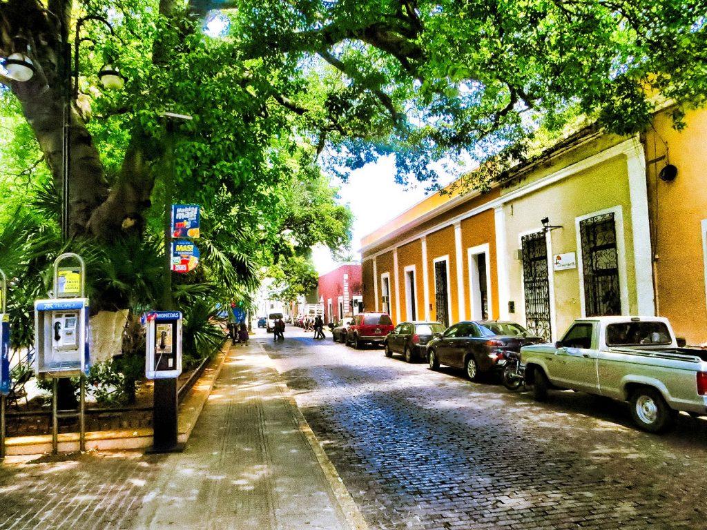 Santa Lucia Square in Merida Mexico
