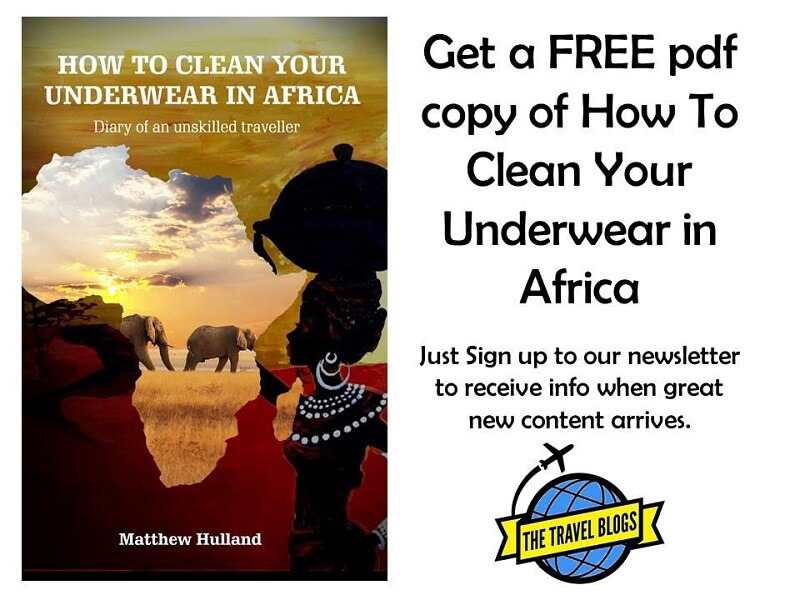 How to clean your underwear in africa