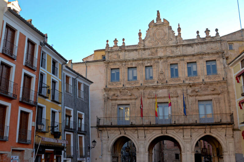Town Hall in Cuenca Plaza Mayor