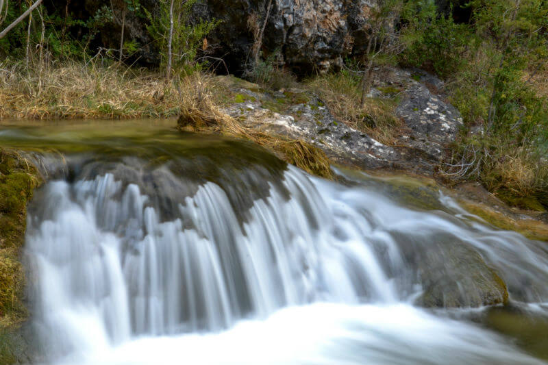 River in the Cuenca wilderness