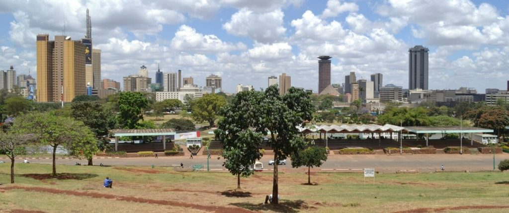 A guided, walking tour of Nairobi