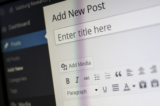 Upload a blog