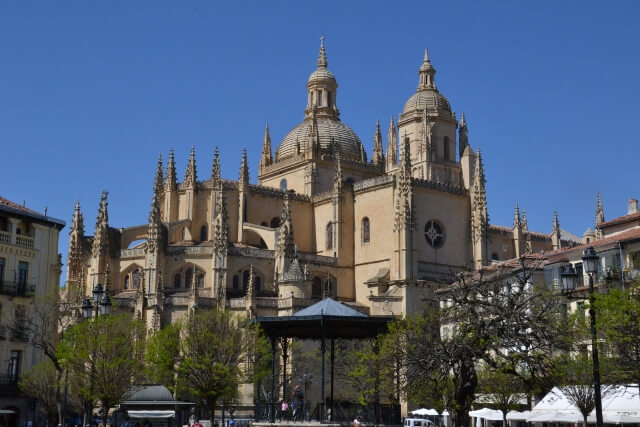 Visiting Segovia Cathedral