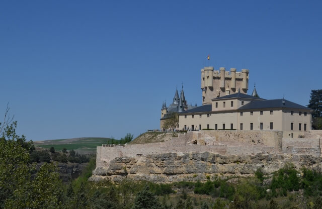 Visiting Segovia Castle