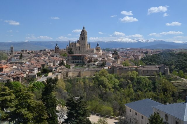 Climbing the Segovia Castle tower