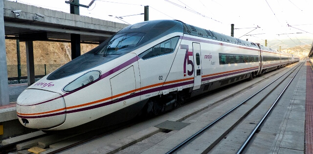 Train from Madrid to Segovia