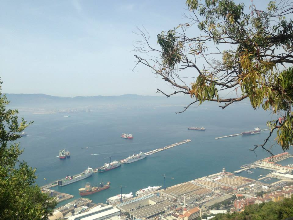 Visit monkeys in Gibraltar and views from the rock