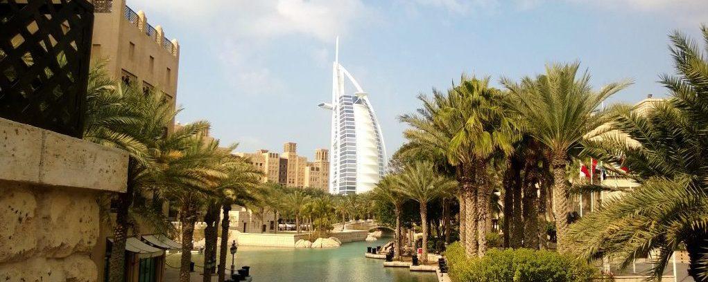 Visiting the Burjal Arab in Dubai