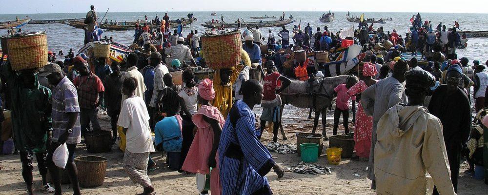 Senegal Dakar coast sea