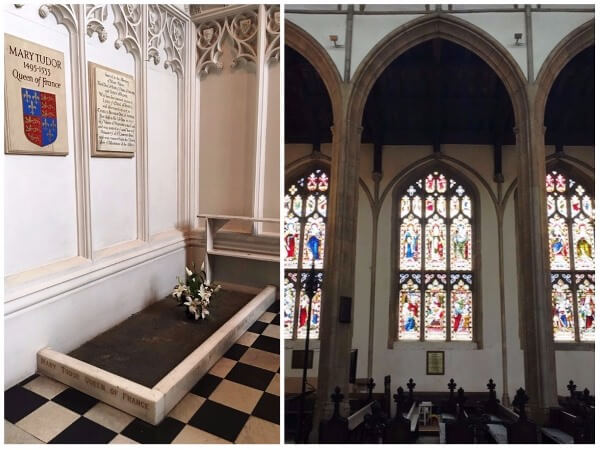 Discover a royal tomb in St Mary's Church