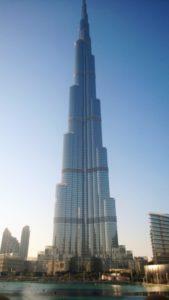 Visiting the Burj Khalifa