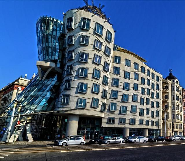 Dancing Houses in Prague