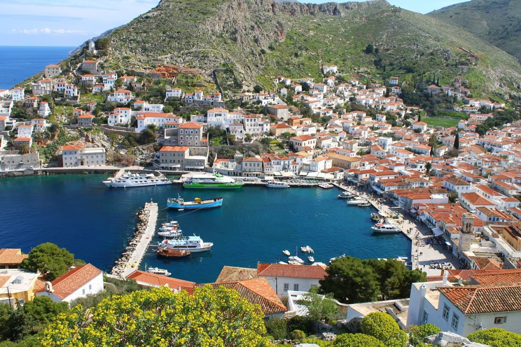 Visiting Hydra in Greece