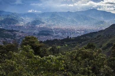 Colombian jungle and Visit the Santuario De Las Lajas, Ipiales, Colombia