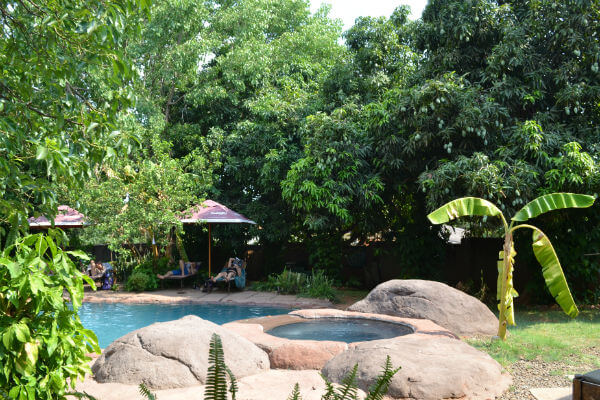 Places to stay in Zambia, Jollyboys Hostel, Livingstone