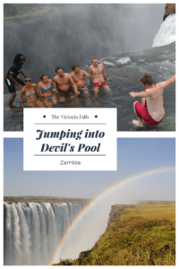 I know how to jumpe into Devil's Pool - coming with me?