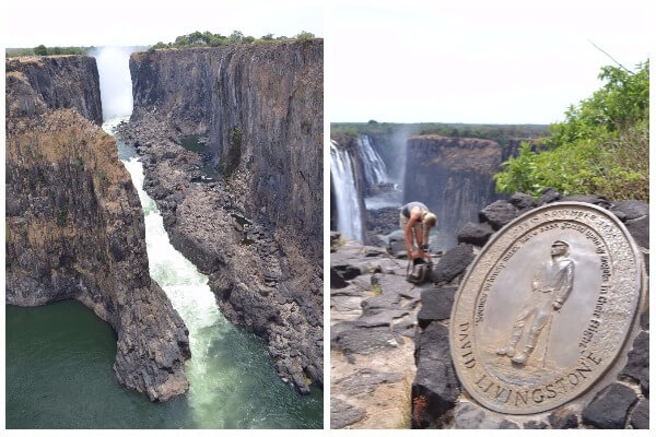 Which side is better to see the Victoria Falls?