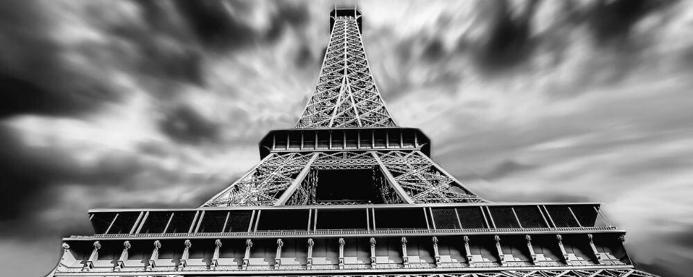 Zipline from the Eiffel tower