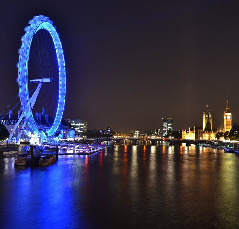 Photo of The London Eye and Big Ben