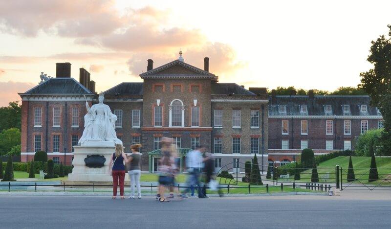 Visitng Kensington Palace