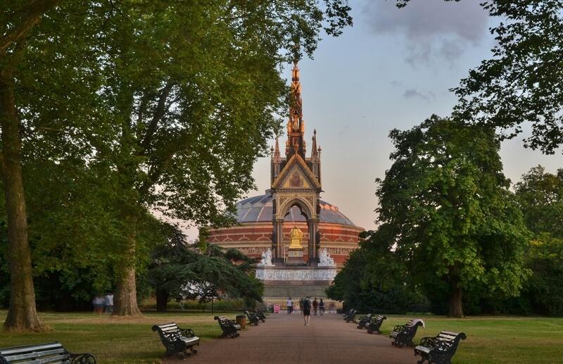 The Royal Albert Hall concert venue