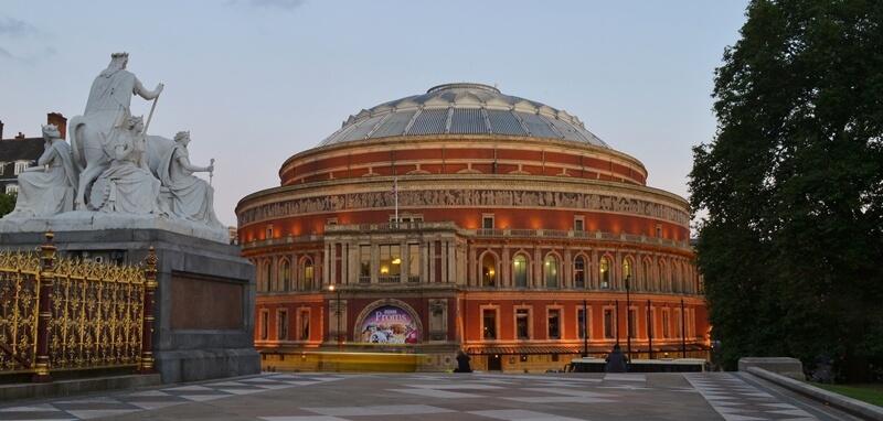 Entrance of Royal Albert Hall