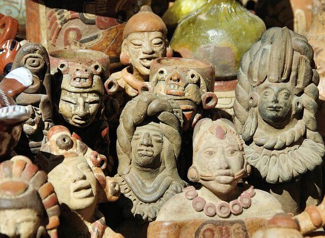 The Aztec culture in Guatemala