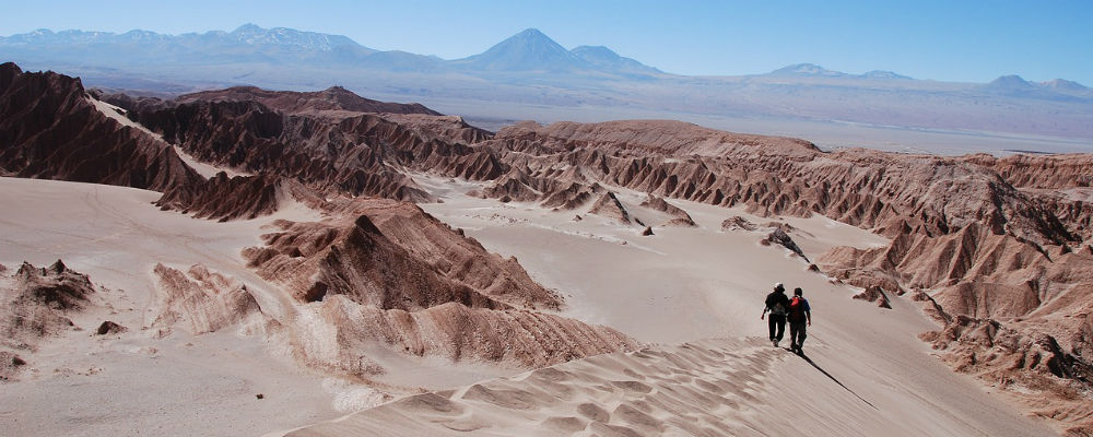 A bite of the Atacama Desert