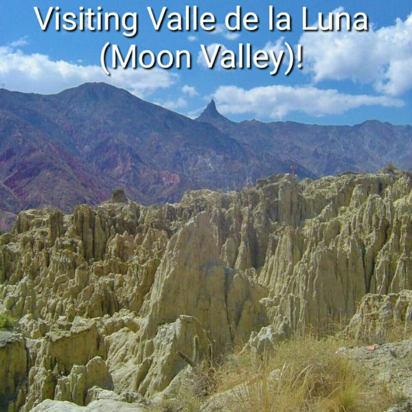 Find out information about how to get to Valle de la Luna in Bolivia, just outside of La Paz