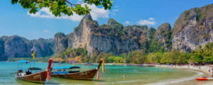 Following in the footsteps of The Beach and visiting the stunning beaches of Southern Thailand