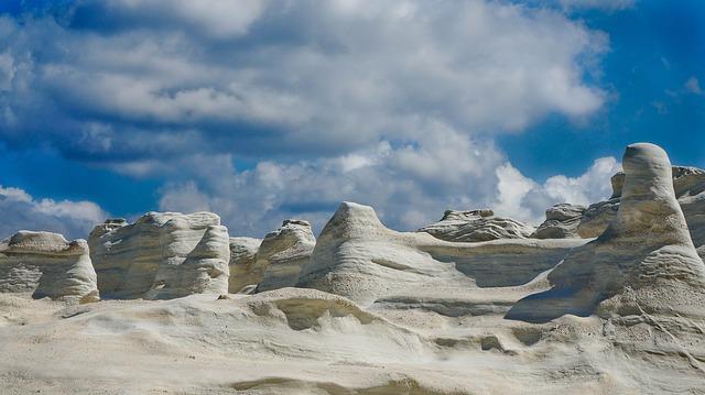 The unique and wonderful landscape of Milos