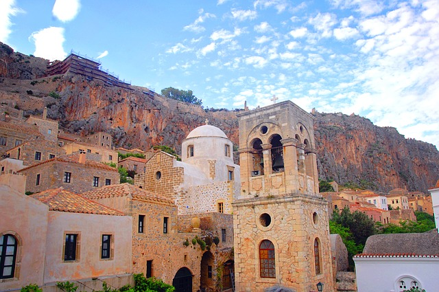 The old town of Monemvasia