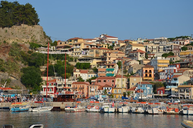 The gorgeous Parga