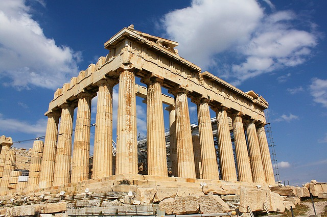 Visiting the Parthenon in Athens, Greece
