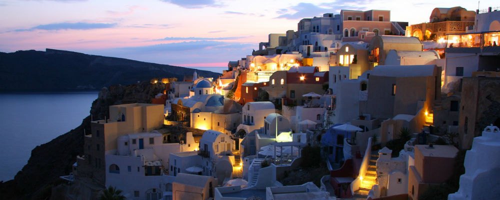 A Guide to the Blue and White Island, Santorini