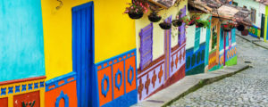 Visiting the colourful streets of Bogota