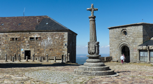 The Courtyard of La Pena de Francia