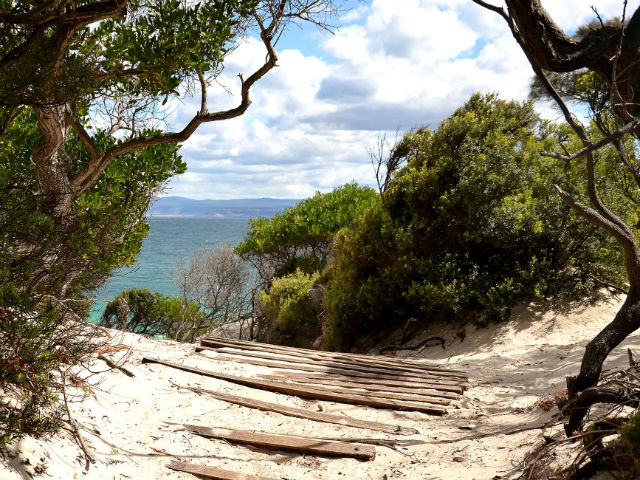 Hiking to Wineglass Bay